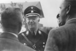 El jefe de las SS Heinrich Himmler.