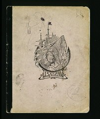 "<p>The cover of a diary written by Elizabeth Kaufmann while living with the family of Pastor André Trocmé in <a href=""/narrative/11043/en"">Le Chambon-sur-Lignon</a>. Le Chambon-sur-Lignon, France, 1940–41.</p>"