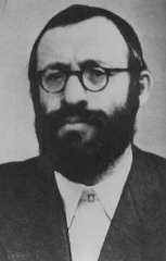 <p>Rabbi Michael Dov Weissmandel, leader of the Working Group (Pracovna Skupina), a Jewish underground group devoted to the rescue of Slovak Jewry. </p>