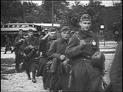 German forces enter Warsaw