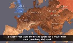 Nazi kamplarının dağıtılması