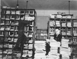 German documents collected by war crimes investigators