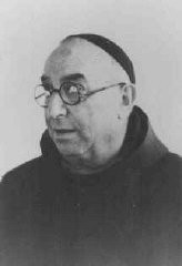 "<p>An Italian Jew who survived the war by disguising himself as a priest and living in the Vatican from October 1943 to June 1944. A number of Jews were able to seek refuge in religious houses throughout <a href=""/narrative/5802/en"">Rome</a>, including in the Vatican. Rome, Italy, 1943-1944.</p>"