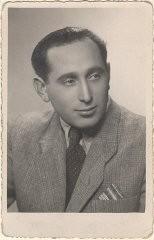1945 photograph of Miles Lerman