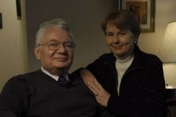 Photograph of Thomas Buergenthal with his wife, Peggy