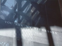 "The ""You Are My Witnesses"" wall in the Hall of Witness at the United States Holocaust Memorial Museum. [LCID: n09376]"