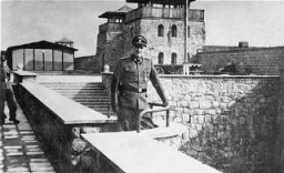 "<p>SS Colonel Franz Ziereis, commandant of the <a href=""/narrative/3880"">Mauthausen</a> concentration camp in Austria.</p>"