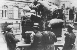 <p>Biens de Juifs qui furent déportés de Vienne. Autriche, 1941-1942.</p>