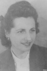 "<p>Hermine Orsi sheltered a number of Jews in her home and helped others reach refuge in <a href=""/narrative/11043"">Le Chambon-sur-Lignon</a>. Yad Vashem recognized her as ""<a href=""/narrative/11778"">Righteous Among the Nations</a>."" Marseille, France, 1940.</p>"