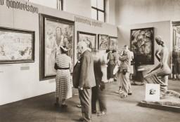 Degenerate art exhibition