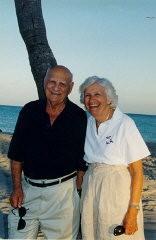 Lisa and Aron on vacation