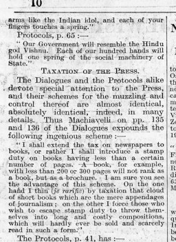 The Times, August 17, 1921 [LCID: 2006tyr5]