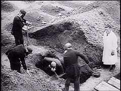US soldiers inspect Hadamar