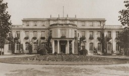 <p>On January 20, 1942, the villa was the site of the Wannsee Conference. </p>