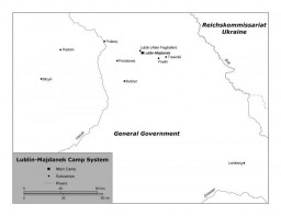 <p>Lublin/Majdanek camp system showing the main camp and subcamps. </p>