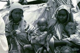 Refugees from Darfur in a camp in eastern Chad