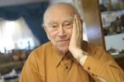 2004 portrait of Norman Salsitz
