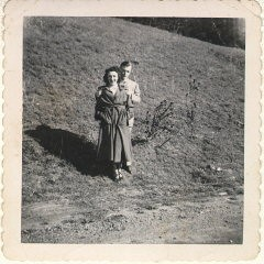 <p>Blanka and Harry in Oregon after they were married. Her husband was an inspector for General Dynamics.</p>