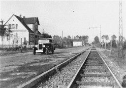 "<p>This photograph shows the Kusserow family home in Bad Lippspringe and the tram tracks in front of it. The Kusserow family members were active <a href=""/narrative/5070/en"">Jehovah's Witnesses</a> in their region. They distributed religious literature and taught Bible study classes in their home. Their house was conveniently situated for fellow Witnesses along the tram route connecting the cities of Paderborn and Detmold. For the first three years after the Nazis came to power, the Kusserows endured moderate persecution by local <a href=""/narrative/11779/en"">Gestapo</a> agents, who often came to search their home for religious materials. In 1936, Nazi police pressure increased dramatically, eventually resulting in the arrest of the family and its members' internment in various concentration camps. Most of the family remained incarcerated until the end of the war. Bad Lippspringe, Germany, 1933-1937.</p>"
