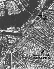 <p>An aerial view of Amsterdam. The photograph was taken for German military use. Amsterdam, the Netherlands, 1939-1940.</p>