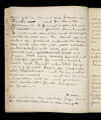 "<p>Page from a diary written by Elizabeth Kaufmann while living with the family of Pastor André Trocmé in <a href=""/narrative/11043"">Le Chambon-sur-Lignon</a>. Le Chambon-sur-Lignon, France, 1940–41.</p>"