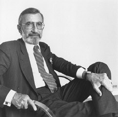 <p>Portrait of James Ingo Freed, architect of the United States Holocaust Memorial Museum. New York, April 1992.</p>