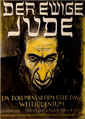 Advertising poster for the antisemitic film