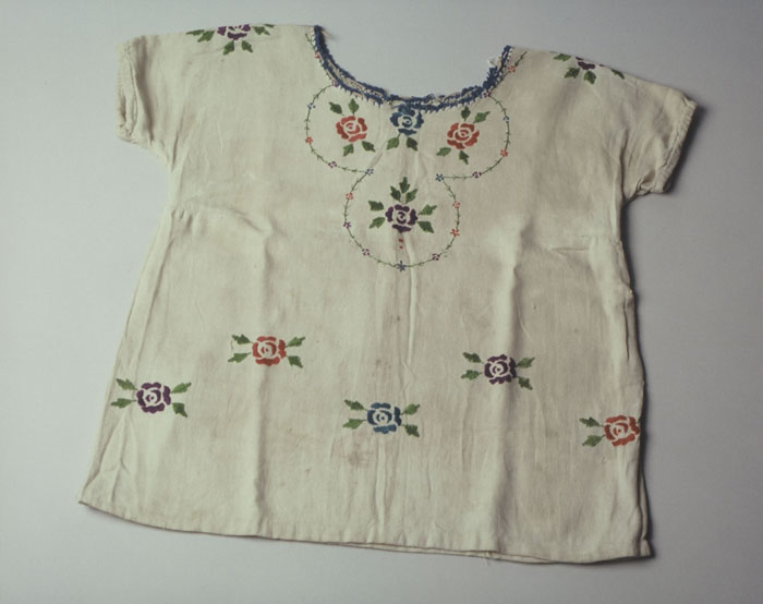 Dress Worn by a Child in Hiding