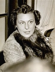 Portrait of Leni Riefenstahl.