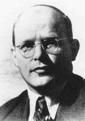 Dietrich Bonhoeffer, German Protestant theologian who was executed in the Flossenbürg concentration camp on April 9, 1945.