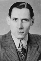 Karl-Heinz Kusserow, a Jehovah's witness who was imprisoned by the Nazis because of his beliefs.