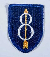 Insignia of the 8th Infantry Division